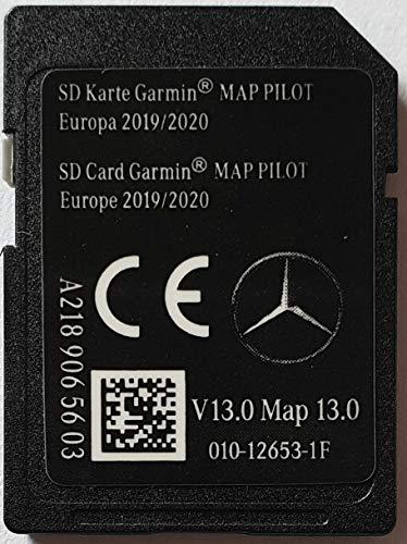 SD Karte GPS Mercedes Garmin MAP Pilot Europe 2019-2020 - STAR1 - v13 - A2189065603