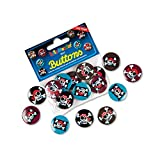 Mini-Buttons Jolly Roger Pirat von Lutz Mauder