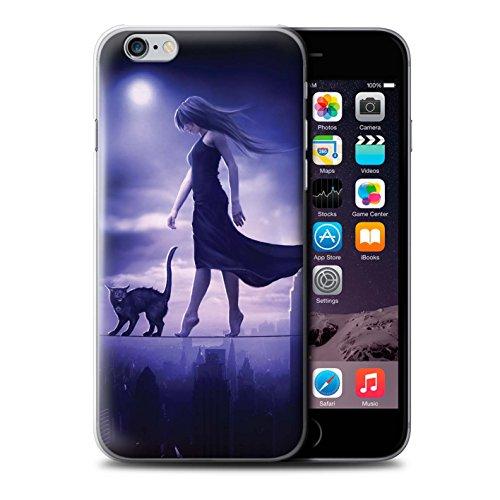 Officiel Elena Dudina Coque / Etui pour Apple iPhone 6+/Plus 5.5 / Autel/Rituel/Décès Design / Magie Noire Collection Somnambule/Insomnie