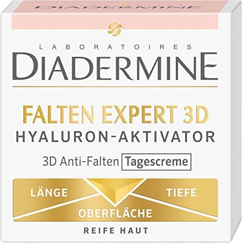 Diadermine Antifaltencreme 3D Hyaluron-Aktivator, 3er Pack (3x50ml)