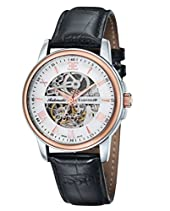 Thomas Earnshaw Beagle Men'Swiss Made Analog Automatik Leder schwarz-ES 0014-01