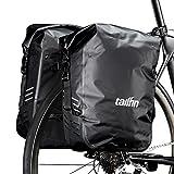 Schwanzflosse Super Light Paket   T1Carbon Bike Rack + 2x SL Staubbeutel Paar   hinten Fahrrad Gepäckträger für Rennräder und leicht wasserdicht Panniers