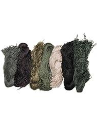 MFH Ghillie - Ovillos de hilo de camuflaje (7 colores)