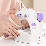 Best Kids Sewing Machines - ShoppoWorld Portable Sewing Machine Mini 2-Speed Double Thread Review