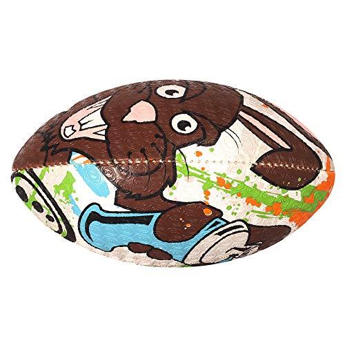 OPTIMUM Kinder Rugbyball Bad Bunny, Kinder, ORBEBBMIDI, Mehrfarbig, Midi
