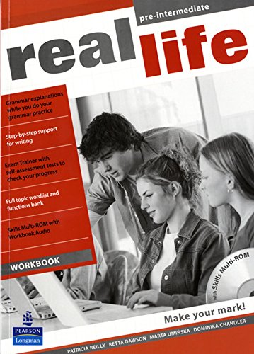 Real life. Pre-intermediate. Workbook. Per le Scuole superiori. Con Multi-ROM