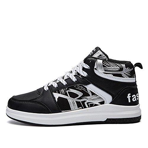 Skateboarding shoes Scarpe sportive Ventilazione Antiscivolo Resistenza allabrasione Sport allAperto. black2