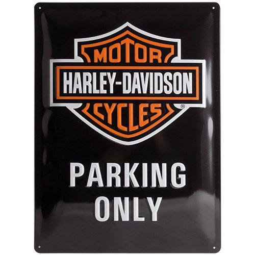 harley-davidson-parking-large-metal-plate