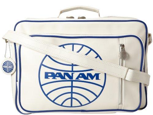 Pan Am Original Secret Agent White 100% PVC Bag