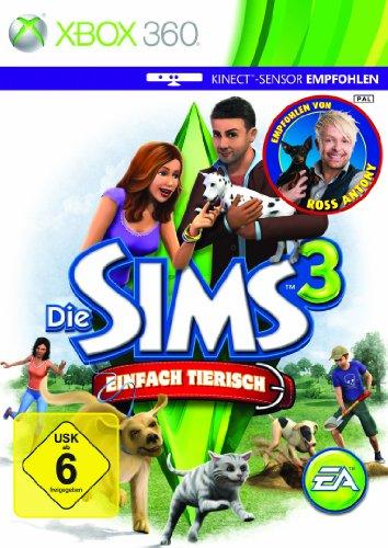 Die Sims 3: Einfach tierisch - [Xbox - Sims Die 3-spiele
