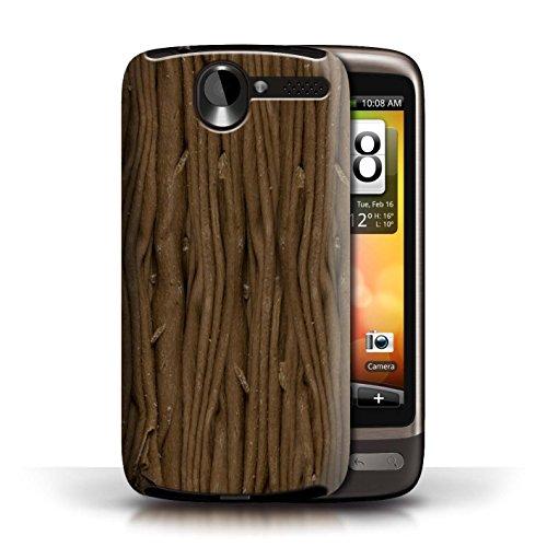 Coque en plastique pour HTC Desire G7 Collection Chocolat - Flake/Flocon Flake/Flocon