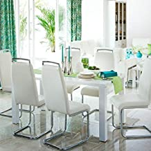 Home Centre Alaska Dining Table Without Chairs (Without Chairs Seater 2) (White)