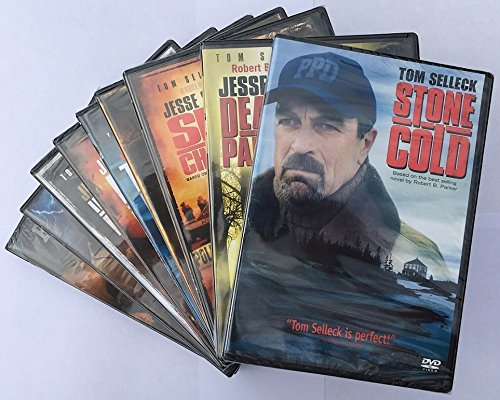 Jesse Stone: The Complete Collection (Stone Cold / Night Passage / Death In Paradise / Sea Change / Thin Ice / No Remorse / Unschuldige Verluste / Benefit Of The Doubt / Lost In Paradise) (Stone Cold Dvd)