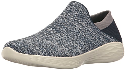 Skechers You, Sneakers Basses Femme Bleu (Nvy)