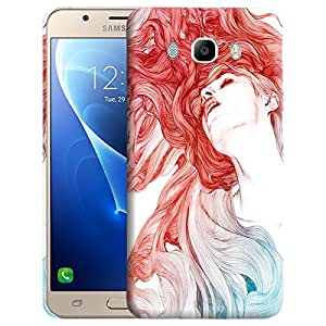 Theskinmantra Beauty and her wings Back cover for Samsung Galaxy J7 (2016 Edition)