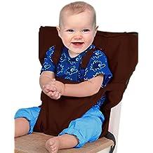 Vine Desmontable y Ajustable Asiento Portatil Trona de Viaje para Bebé