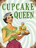 Original Kühlschrank Magnet - Cupcake queen - Geschenk Dekoration 80164