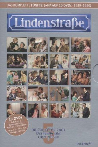 Lindenstraße - Das komplette 5. Jahr (Folge 209-260) (Collector's Box, 10 DVDs)
