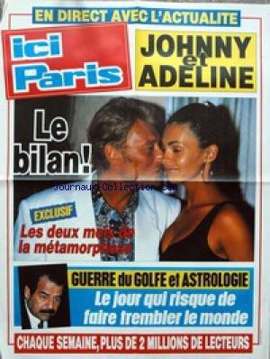 AFFICHE DE PRESSE - JOHNNY HALLYDAY ET A...