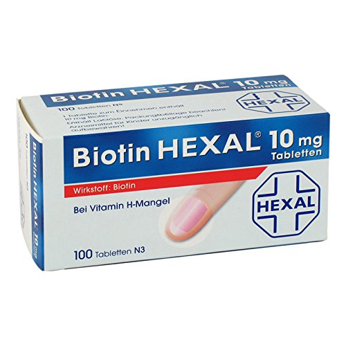 Biotin Hexal 10 mg Tablet 100 stk
