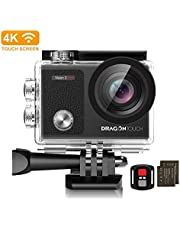 Dragon Touch 4k 16mp WiFi touch screen action camera