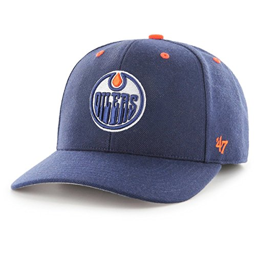 47 Brand Adjustable Cap - Audible Edmonton Oilers Hell Navy