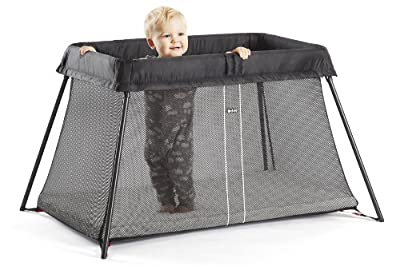 BabyBjörn Light - Cuna de viaje + sábana ajustable