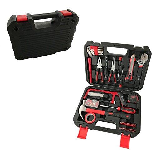 Preisvergleich Produktbild 108 tlg. Werkzeugkoffer mit Werkzeug Werkzeugkasten Werkzeugkiste Werkzeugset Set