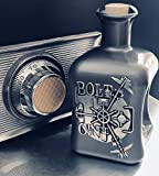 BOLT Gin Geschenk limitiert 1.250 Flaschen aus Deutschland Edelmanufaktur Luxus Dry Gin Silber Tresor wilde Bergamotte und Kardamom Geschenkset mit 2 Gläsern TOP Qualität - 8