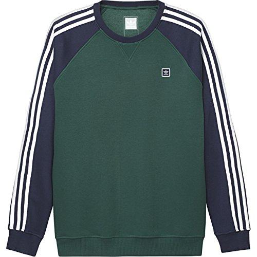 adidas Uniform Crew Sweater cgreen/nindig/white
