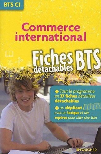 Commerce international BTS CI