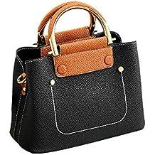 iHAZA Sac à Bandoulière en Tissu Femme Gros Sac à Main Simple et Confortable d65e636b334