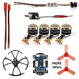 GEHOO DIY RC Mini Racer Drone kit with X9D Receiver 25mw 800TVL VTX+Camera 4in1 ESC F3 Flight Controller Motor