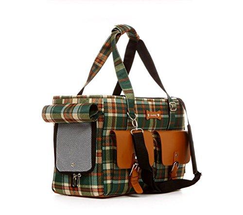 ZZHH Animale domestico Borsa nylon borse fuori all'aperto pet borsa portatile del cane . b