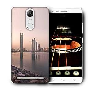 Snoogg Building Near Lake Side Designer Protective Phone Back Case Cover for Lenovo Vibe K5 Note
