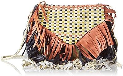 Antik Batik Bao - Cartera de mano para mujer multicolor Multicolor (Multico) 1x17x18 cm (W x H x L)