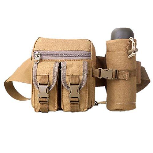GOUQIN Outdoor Rucksack Klassische Mode Outdoor Wasserkocher Pauschalreisen Taschen, Taschen Sportler Und Reiten - Wasserkocher Taschen Schwarz