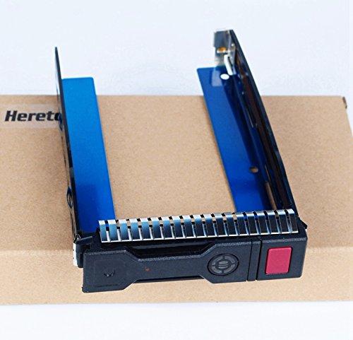 New Ersatz 8,9cm LFF SAS SATA HDD TRAY CADDY für HP ProLiant G8Gen8Gen9G9DL380p DL388DL360ML350e ML310e SL250s Serie, kompatibel mit Teil # 651314-001651320-001
