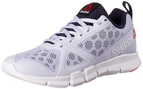 Reebok Women's Reebok Hexalite Tr Lilac, Blue, White, Pink and Navy Multisport Training Shoes – 6 UK/India (39 EU) (8.5 US) 51jkkG 80pL