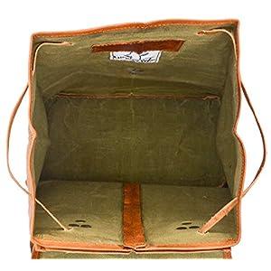 51jkknrh7YL. SS300  - Gusti Cuero nature Emerson Mochila Vintage Piel de Cabra Vitnage Retro Trabajo Universidad Oficina K57b