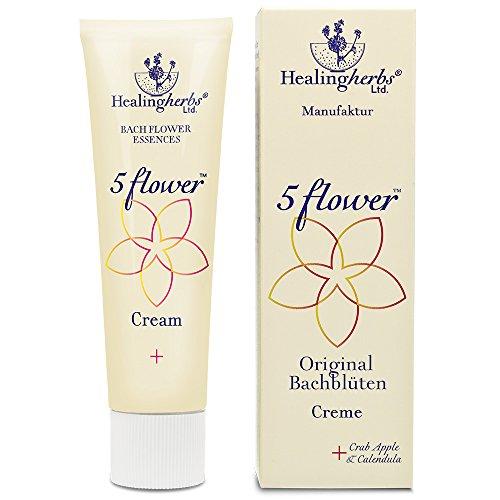 Healing Herbs Bachblüten 5 Flower Creme, 30 g