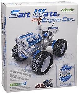 CEBEKIT-C7105 CEBEK THUNDERBID Kit Coche 4X4 Funciona Agua Salada A A, Color Amarillo (C7105