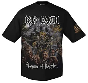 Iced Earth Plagues of Babylon 701693 T-Shirt S