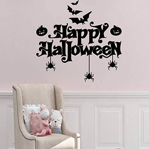 Profile-nagel-trockner (xinyouzhihi Cartoon Happy Halloween Wandaufkleber Personalisierte Kreative Kinderaufkleber Wandaufkleber Wasserdicht XL 57cm X 59cm)