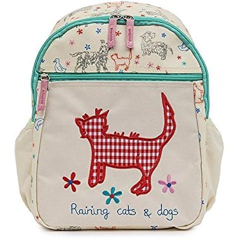 Forro rosa Childs Mini mochila infantil/mochila–de gatos y perros