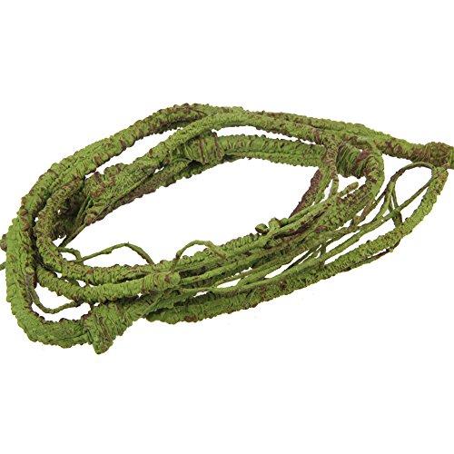 emours Flexible bend-a-branch Jungle Vines Pet Habitat Decor für Eidechse, Frösche, Schlangen und mehr Reptilien, klein, 3,2 Fuß lang