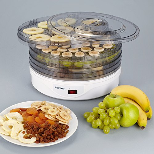 51jknAzQHFL. SS500  - Severin S72940 OD2940 Fruit Dryer with 250 W of Power OD 2940, White