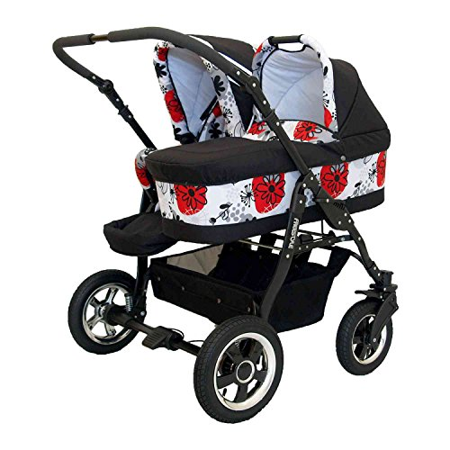 Zwillingskinderwagen Freestyle Twins 2in - 3