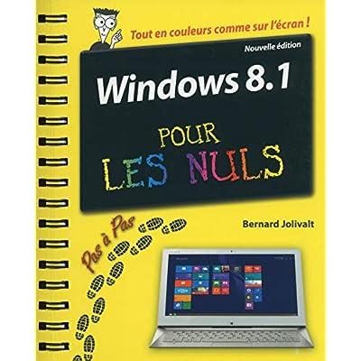 Windows 8.1 Pas à pas pour les Nuls Nouvelle édition