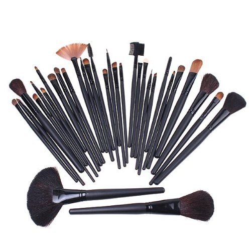 Anself - Set de cepillos de maquillaje de 32...